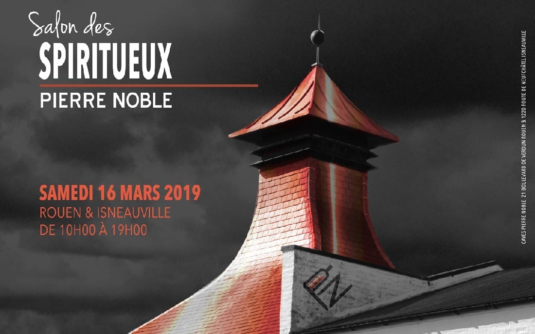 Salon des Spiritueux aux Caves Pierre Noble Samedi 16 Mars 2019 à Rouen